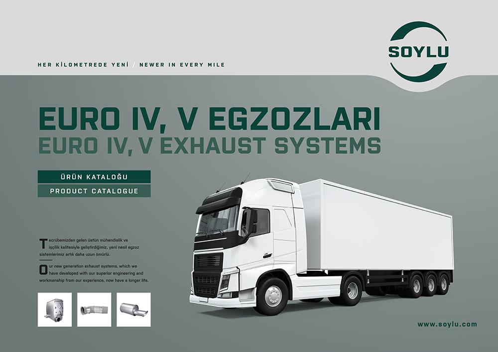 Ağır Vasıtalar İçin EURO IV, V  Egzoz Sistemleri