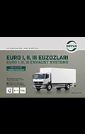 EURO I, II, III Exhaust Systems For Heavy Duty Vehicles
