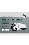EURO IV, V Exhaust Systems For Heavy Duty Vehicles